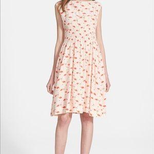 Kate spade blaire flamingo dress $428 original